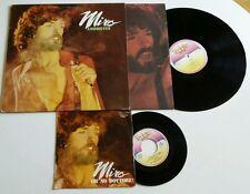"MIRO' ambiguita' LP ORIGINALE + 45"" SINGLE !!!    italian prog psych progressive"