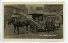 (Ld7423-473) RP,  Old Horse Car in 1890, York Road, Leeds Unused VG-EX