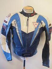 "Vintage Moto Dainese Cuero Chaqueta Cafe Racer Biker Jacket M 38"" euro 48"