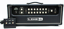 Line 6 duoVerb HD 100 watt Solid State Stereo Head Guitar Amplifier w Footswitch