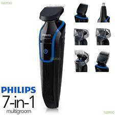 Philips Mens Series 3000 Multigroom Shaving Body Face Trimmer Clipper Kit QG3337