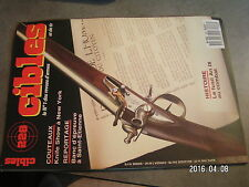 $$o Revue Cibles N°228 Knife Show New York  fusil An IX  Tryon Creed Moore