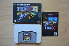 N64-F-Zero X - (Neuf dans sa boîte, avec mode d'emploi)