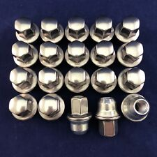 Set of 20: New OEM Stainless Steel Lug Nuts For Chrysler Part #: 6504672 611-181