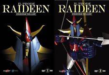 10 Dvd x 2 Box Cofanetto IL PRODE RAIDEEN THE BRAVE Ediz. Deluxe serie completa
