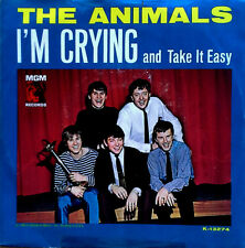THE ANIMALS - I'M CRYING b/w TAKE IT EASY - MGM - 45 + PICTURE SLEEVE - 1964