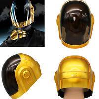 Xcoser Daft Punk Guy-Manuel Helmet Full Head DJ Party Props Adult Cosplay Props