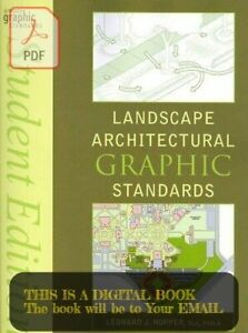 Landscape Architectural Graphic Standards Student Edition by Leonard
