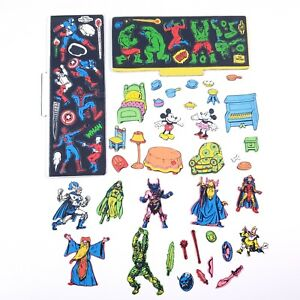 VINTAGE 1980s Colorforms Sets Dungeons & Dragons Marvel Disney Mickey Mouse RARE
