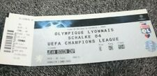 TICKET )) OL LYON V SCHALKE 04 - Champions League 2010/2011