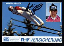 Andreas Bauer Autogrammkarte Original Signiert Skispringen + A 96750