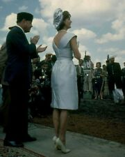 First Lady Jacqueline Kennedy watches horse show in Pakistan New 8x10 Photo