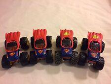 hot wheels monster jam #90 4 Special Edition Superman Trucks