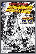 FOREVER EVIL: ROGUES REBELLION #1 DECLAN SHALVEY VARIANT COVER - 1/25
