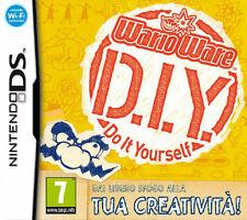 WarioWare DIY Do It Yourself (Super Mario) Nintendo DS NINTENDO