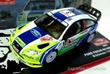 1/43 FORD FOCUS GRONHOLM RALLY MONTECARLO 2006  IXO ALTAYA DIECAST