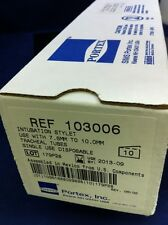 10ea. NIB PORTEX INTUBATION STYLET 7.5-10mm Tracheal Tubes 103006 2013-09 SMITHS