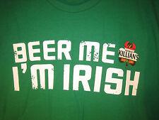 (XL) George KILLIAN'S Irish ST PATRICK's pats Red Ale Beer T Shirt PUB Killians