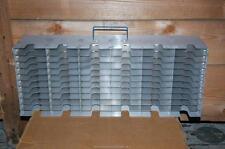 """Cryogenic Cryo Storage Rack Stainless Steel -80 Freezer Tray Rack 22 x 5.5 x 9"""""""