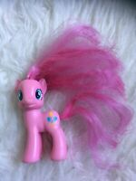 3 inch Pinkie Pie My Little Pony MLP Figure Head Turns Matted Hair AS IS