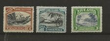 More details for niue 1948 watermark w98 sg.91, 93, 97 hinged mint