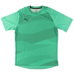 Puma Mens Green Running Fitness Workout T-Shirt Athletic XL  5144