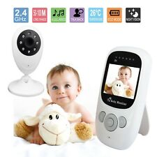 "2.4"" LCD Wirless Digital Video Baby Monitor Audio 2.4GHZ Camera HD Night Vision"