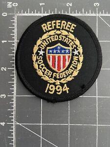 Vintage Referee United States Soccer Federation 1994 Patch USSF Football Futbol