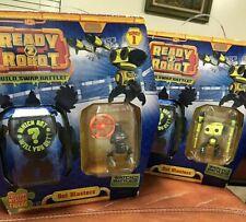 Lot of 2 'Ready 2 Robot' SERIES 1 NEW NIB 'BOT BLASTERS' Mystery Figure Slime