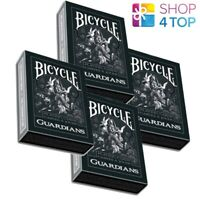 4 DECKS BICYCLE GUARDIANS BY THEORY 11 SPIELKARTEN VERSIEGELT USPCC NEU