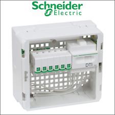 SCHNEIDER VDIR3900024 Coffret de communication 1 rang grade 2 - 6 RJ45 Cat 6 STP