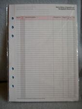 Time//system 2020 CMP Compact Jahresinhalt Woche Wochenkalender Einlage DEU 35111