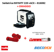 Saldatrice inverter Telwin Infinity 220 - 230V acx - 816082