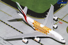 GEMINI JETS EMIRATES AIRBUS A380-800 1:400 ORANGE EXPO 2020 GJUAE1815 IN STOCK