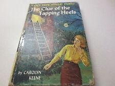 The Clue of the Tapping Heels #16 Carolyn Keene Nancy Drew vintage 1939 hardback