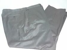 NWT Louis Raphael Rosso Big & Tall Dress Pants 48x32 Charcoal