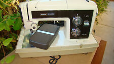 Vintage Sears/ Kenmore 158.18130 Sewing Machine w Foot Pedal & Case Ec