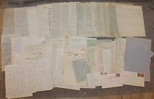 1958-1959 Us Navy Lieutenant Correspondence Letters Lot 60+ Tehran Iran Germany