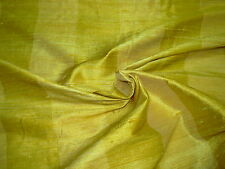 """~BTY~FABRICUT 100% SILK """"SHALINI STRIPE"""" SUNGOLD~UPHOLSTERY FABRIC FOR LESS~"""