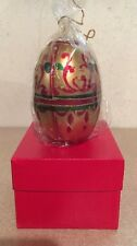 TALBOTS Vintage Holiday Egg Sealed Candle NOS Made In Italy