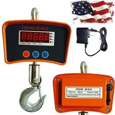 500 KG 1100 LBS Digital LCD Hanging Scale Mini Industrial Crane Scale Heavy Duty