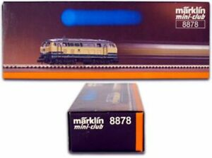 Marklin Z Scale 8878 German BR 218 Diesel Engine - Original Box Tested C7