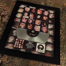 Sum 41 All Killer No Filler Platinum Record Disc Album Music Award Riaa Mtv