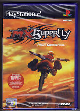 PS2 MX Superfly Featuring Ricky Carmichael (2002), UK Pal, New & Factory Sealed
