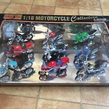 Maisto Collectible Motocycle Collection 1:18 1998, Very Rare Set, New