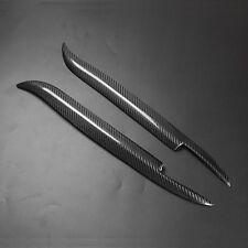 Real Carbon Fiber Headlight Cover Eyebrows Eyelids for BMW E39 525 528 530 97-03