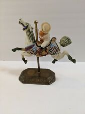 Ceramic Carousel Horse Willitts Americana Collection 1920