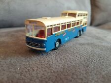 Brekina Bus 1:87, h0,Modellauto, Mercedes Benz 0 317, Doppeldecker,Jacobs Kaffee