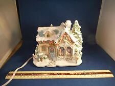 Hawthorne Village Precious Moments Tiny Treasures Toy Shop Lighted House