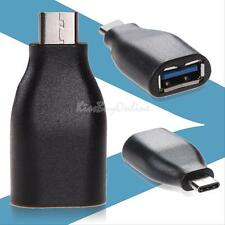 USB 3.1(Type-C) Male to USB 3.0/2.0 Type A Female Plug OTG Adapter Converter New